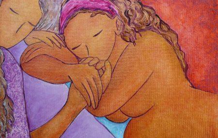 Et les doulas, celles qui peuvent soutenir les parents, offrir une présence qui rassure sont encore souvent devant la porte d'entrée de la maternité.
